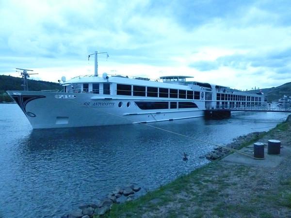 ss Antoinette Uniworld River Boat in Europe